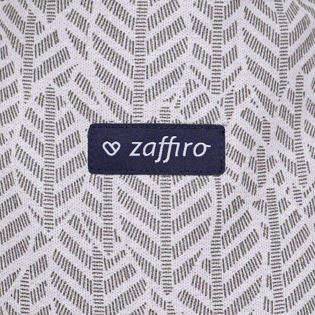 ZAFFIRO regulowane nosidełko SMART 2.0 - Grey Leaves